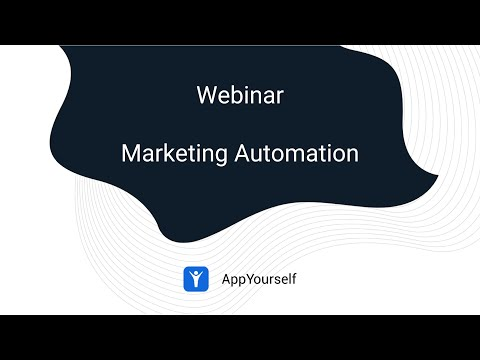 Webinar Marketing Automation - AppYourself