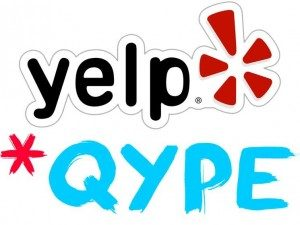 Yelp, Quipe und Mobile Marketing Online