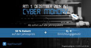 Cyber Monday 2014 Aktion