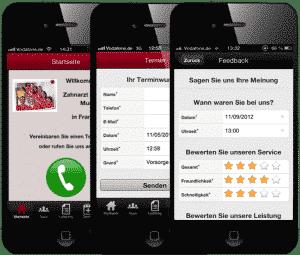 Die Feedback Funktion in der App