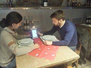 Das Restaurant Marketing direkt am Tisch
