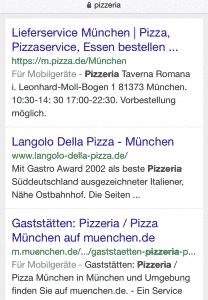 GoMobile! vor allem in der Google Suche enorm wichtig