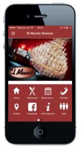 Die App von El Mundo Bremen