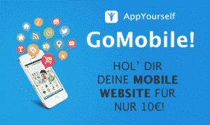 Die mobile Website im Angebot