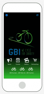 Die App der Global Biking Initiative