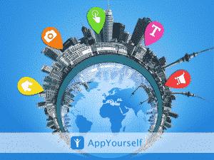 Eine CIty App mit AppYourself erstellen