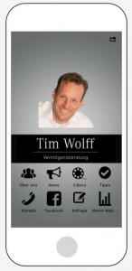 Die Vermögensberater App von Tim Wolff