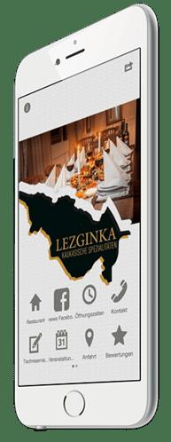 Restaurant Apps mit Tischreservierung