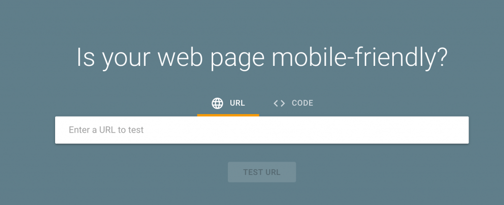 Der Mobile Website Checker von Google