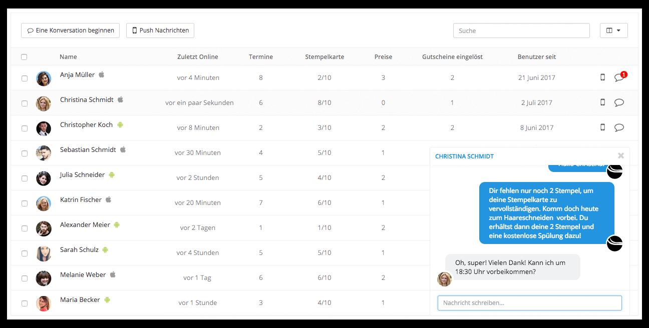 Das smarte Kundenmanagement Tool von AppYourself - Einfaches CRM