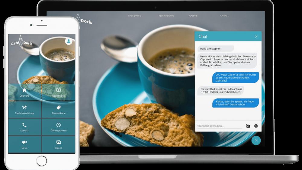 Smart Widget und Chat Widget für die eigene Webpräsenz