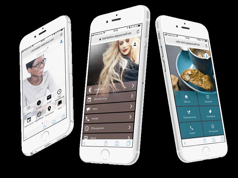 Die Progressive Web Apps von AppYourself