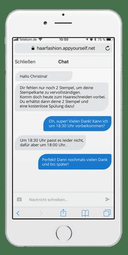Chat in einer Progressive Web App
