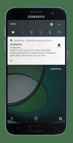 Push Nachricht mit einer Progressive Web App