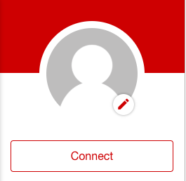 Connecting with the app via in-app registration