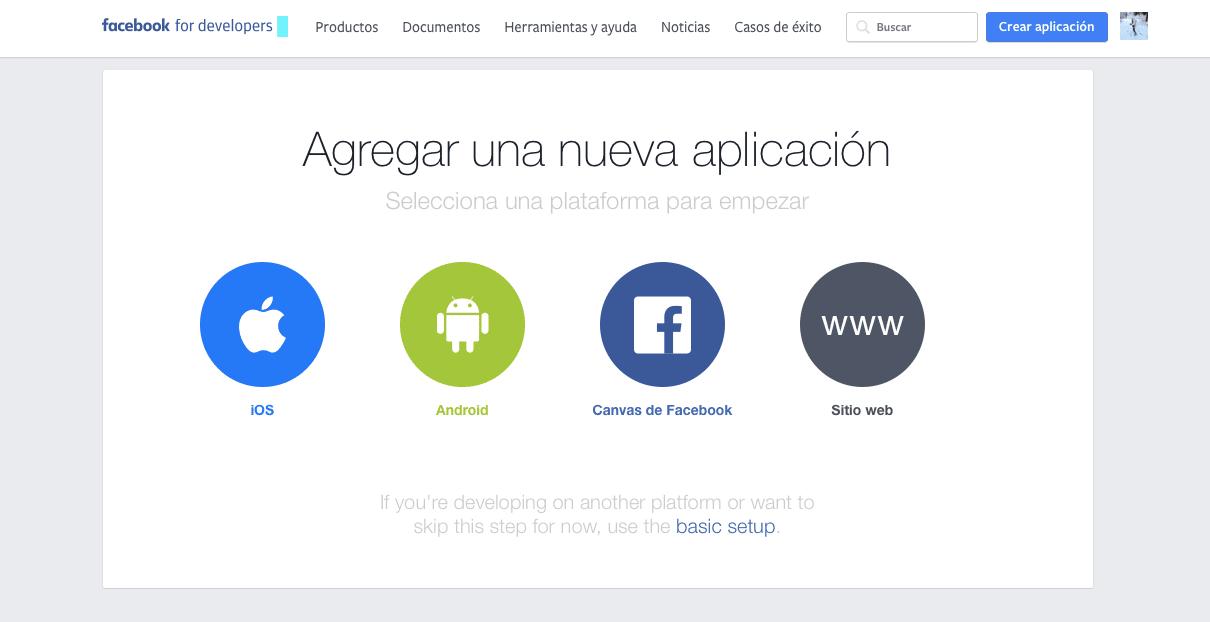 developer Facebook