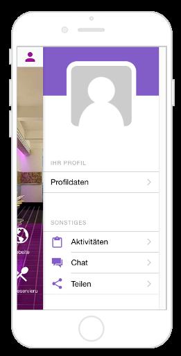 Chat-Funktion innerhalb des Kundenprofils