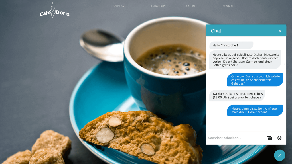 Chat Widget in Website einbauen