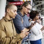 Das Mobile Dashboard, um von unterwegs aus Kunden zu erreichen und zu verwalten