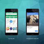 Native and Progressive Web Apps differ in many respects