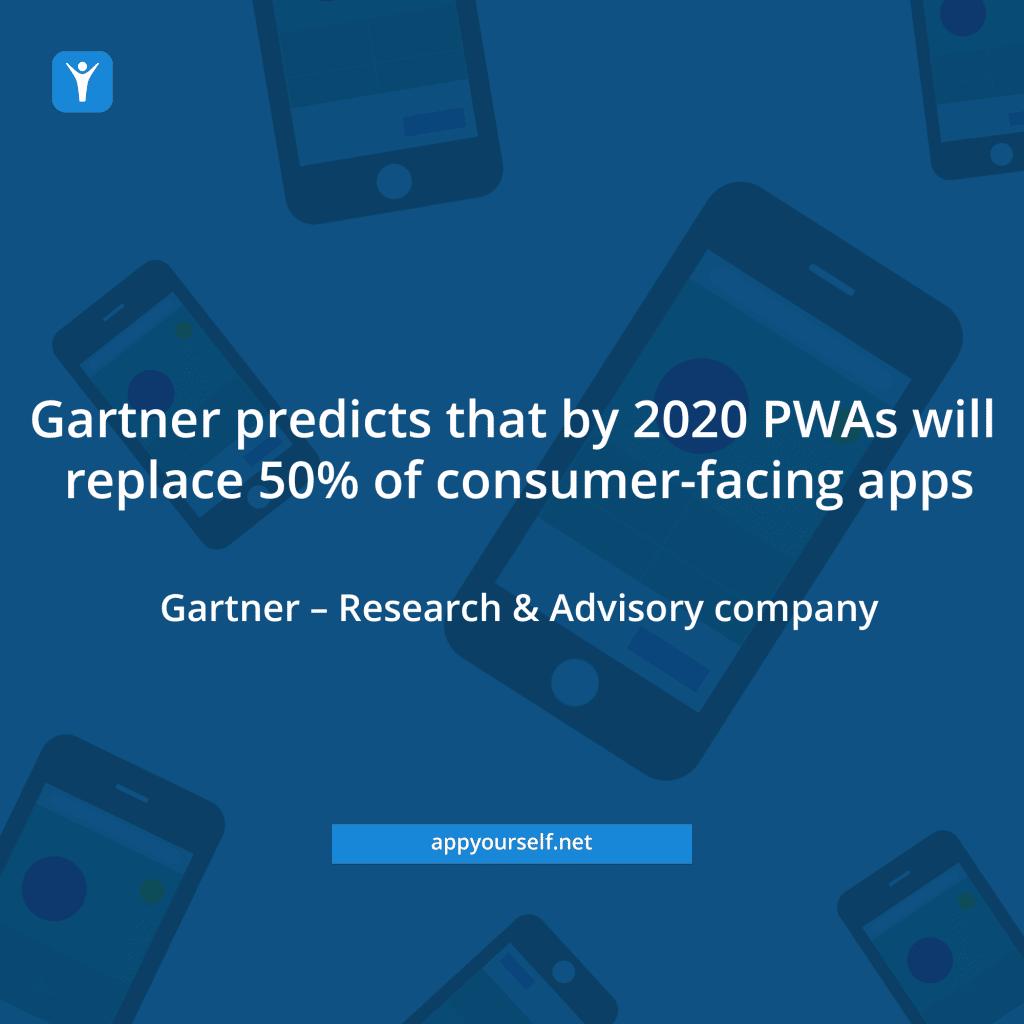 Gartner weist der PWA eine erfolgversprechende Zukunft voraus
