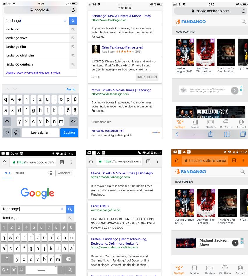 PWAs über die Google Suche aufrufen