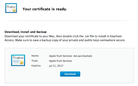 Apple Push Service