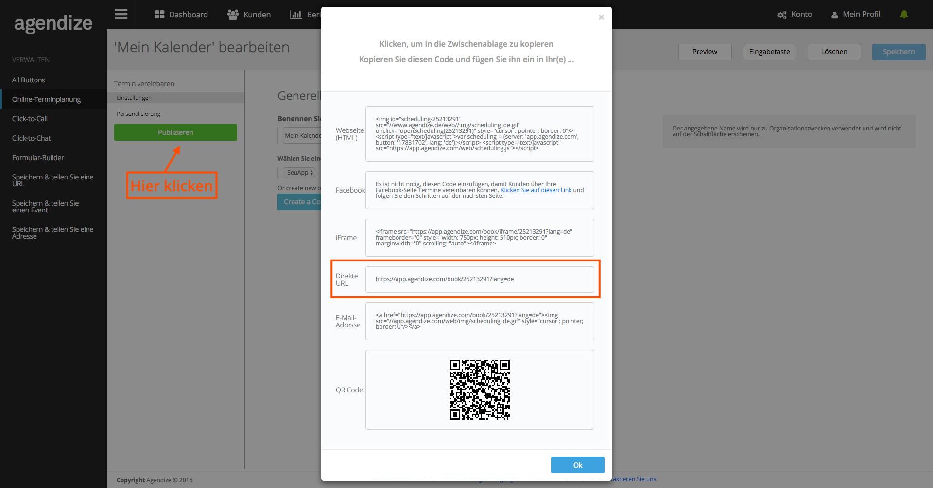 Online Terminbuchung mit deiner eigenen App