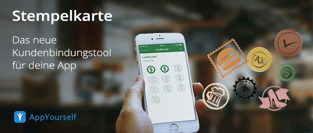 Stempelkarte: das neue Kundenbindungstool für deine App