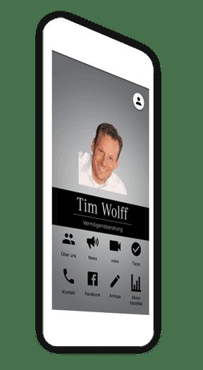 Die Dienstleistungs-App von Tim Wolff