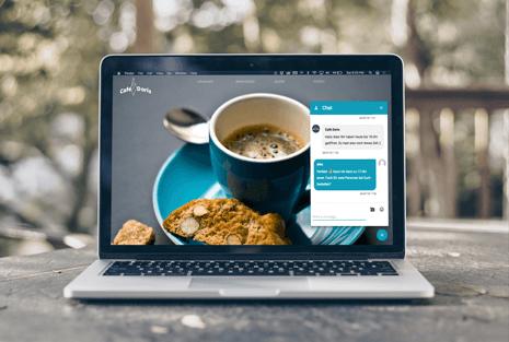 Die Business App für Android, iOS und als PWA mit Messenger
