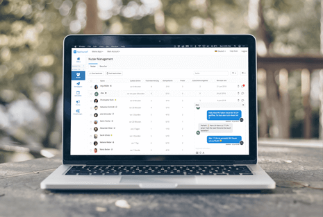 Business App with Messenger for a better customer communication