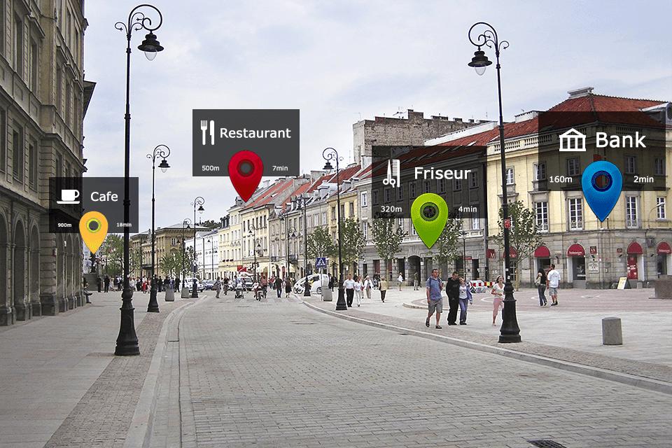 Die City App ist immer dabei