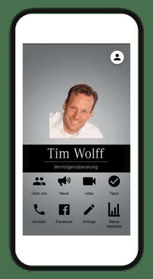 Die Dienstleistungs-App von Tim Wolff und der Business Boost von AppYourself