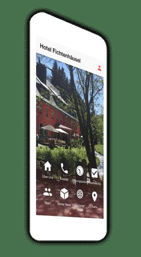 Hotel Apps zum Buchen und Reservieren von Zimmern