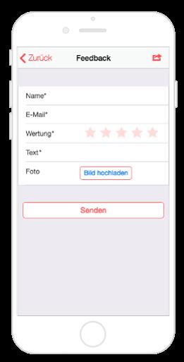 Das Feedback Modul von AppYourself sorgt für Kundenzufriedenheit