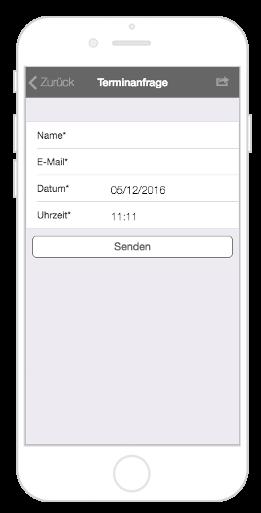Den Kundenservice mit dem Modul Terminanfrage des App Baukastens von AppYourself erhöhen