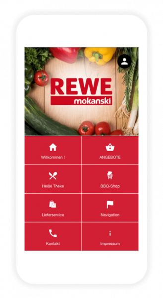 Delivery Service App Rewe Mokanski - Successful with the Business Boost from AppYourself