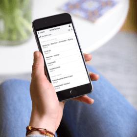 En el creador de apps se encuentra el módulo lista de precios