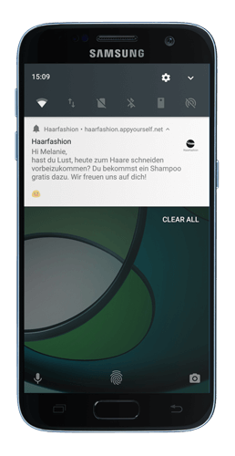 Send Push Messages with a Progressive Web App ´