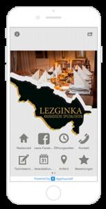 Kundenbindung mit der App vom Restaurant Lezginka
