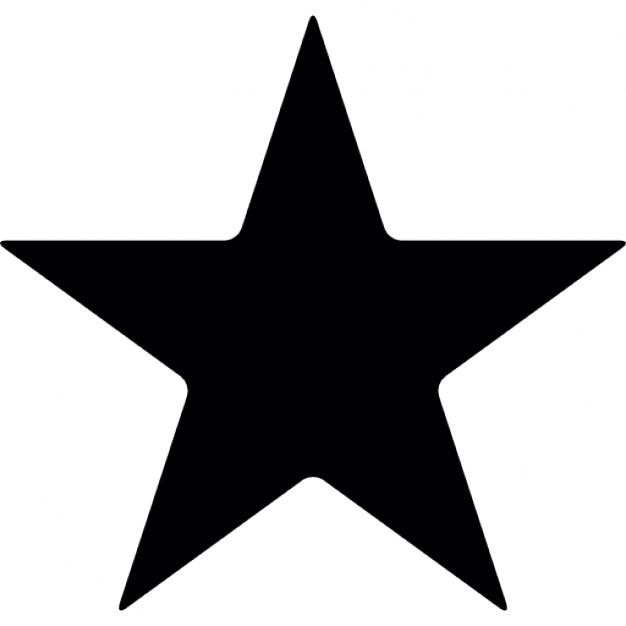 silueta-estrella-senalada_318-35987
