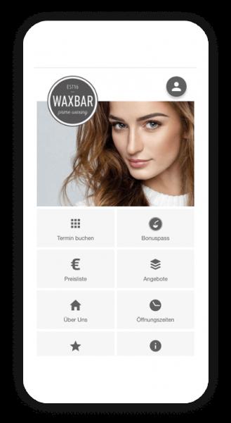 Terminbuchung App von Waxbar - Business Boost von AppYourself