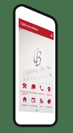 Eigene Dienstleistungs-App für Immobilienbüros und Immobilienmakler