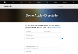 Creating your Apple Developer Account