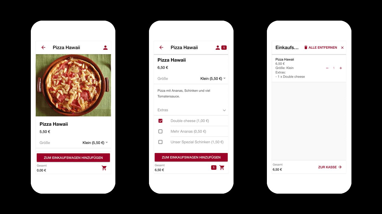 Pizza einfach über Deine Lieferservice App bestellen