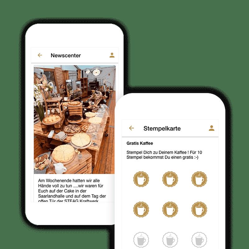 Eigene Tischreservierung App mit der digitalen Stempelkarte verbinden