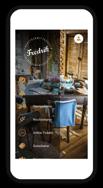 Die Tischreservierung App von Fredrik - Erfolgreich mit AppYourself