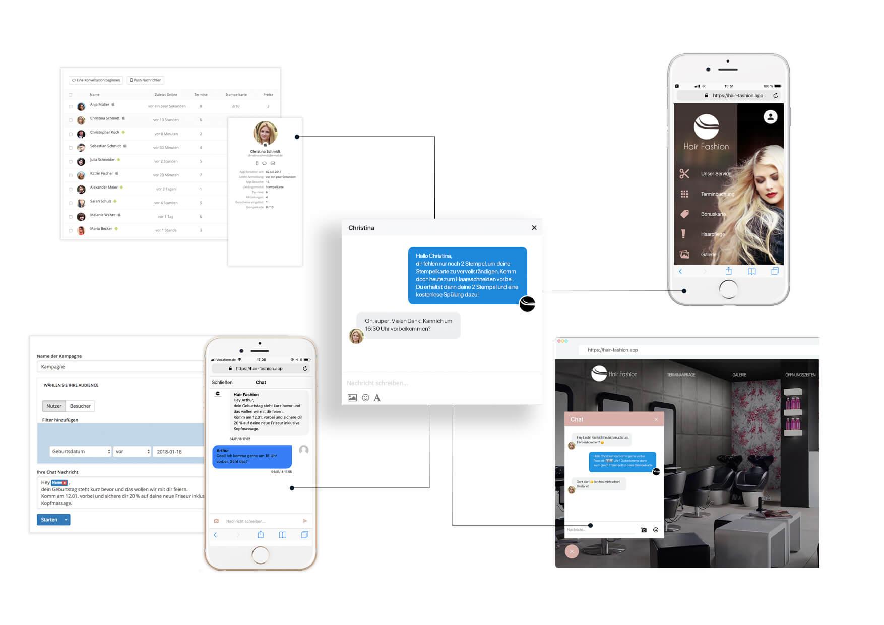 Die Business App von AppYourself mit Tools für mehr Erfolg online