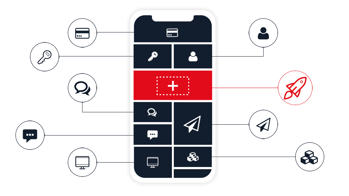 The app platform from AppYourself for the smart app development